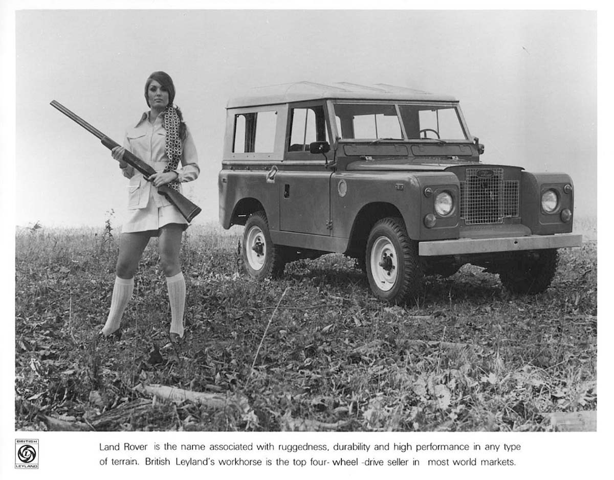 Cars For Sale Bay Area >> Land Rover PR photo – Girl with gun | 1967 MGB GT