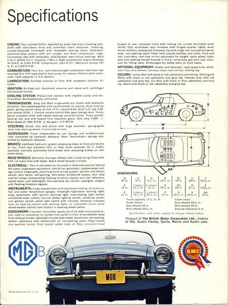 1962 MGB Brochure - Page 4