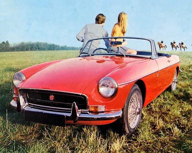 1971 MG MGB Factory Photograph