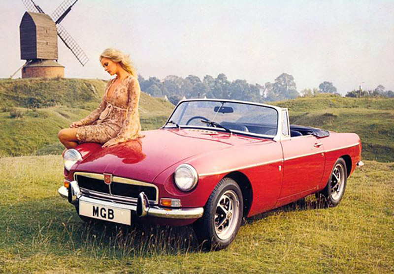 MG MGB Roadster promo photos