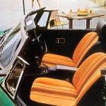 1978 MG MGB Interior Factory Photo