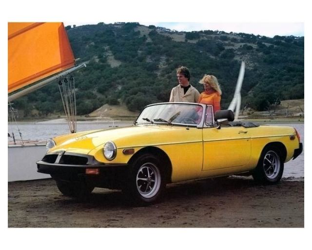 1978 MG MGB roadster promo photo