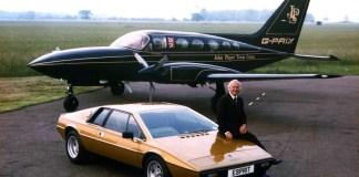 Colin Chapman Lotus Esprit S2 and the John Player Team Lotus Cessna 414