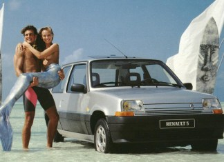 Renault 5 Mermaid Girl