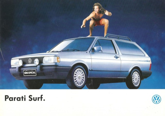 VW Parati Surf ad