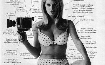 Vivitar Super 8 camera sexist ad