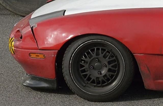 WTF Mazda Miata front end