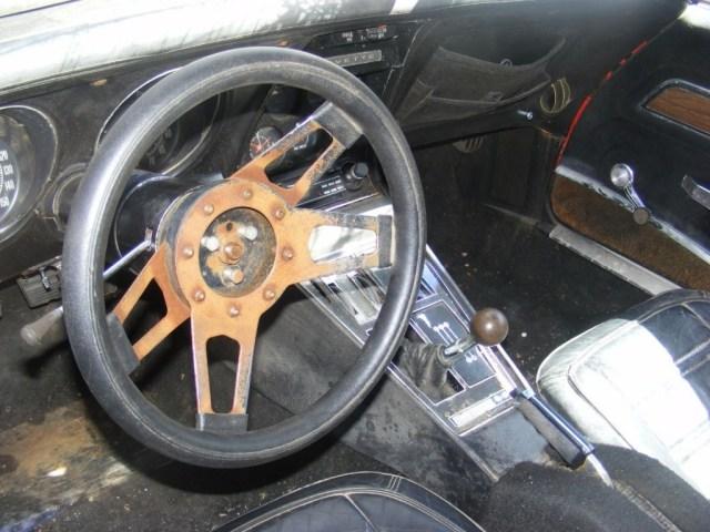 1972 Corvette crap interior