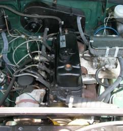 1973 mgb gt engine [ 1200 x 900 Pixel ]