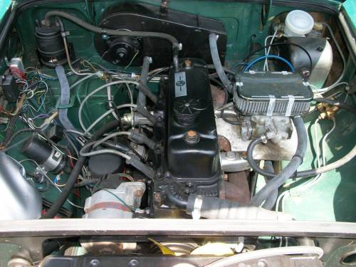 small resolution of 1973 mgb gt engine