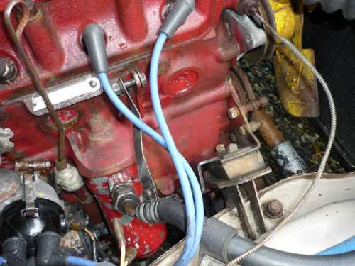 small resolution of mgb engine with coil and generator removed hotel fuse box auto electrical wiring