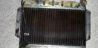 1967 MGB GT radiator