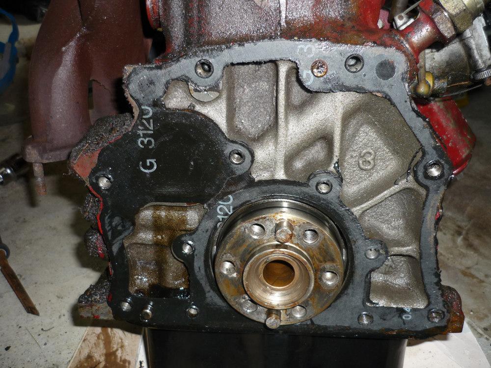 MGB engine back plate
