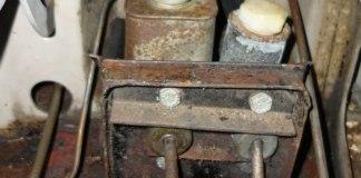 MGB pedal box