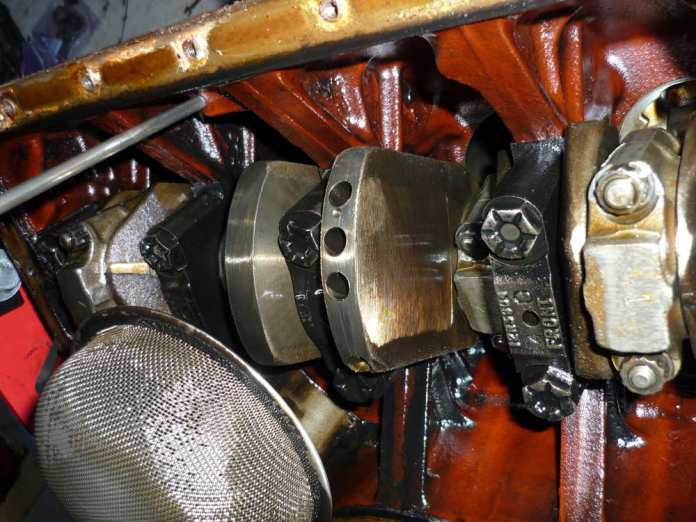 1972 MGB 18V engine crankshaft