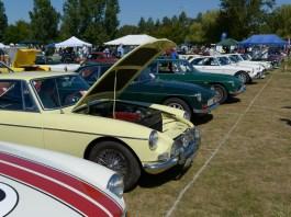 MGB GTs at the Columbia River Classic & British Field Meet in Portland