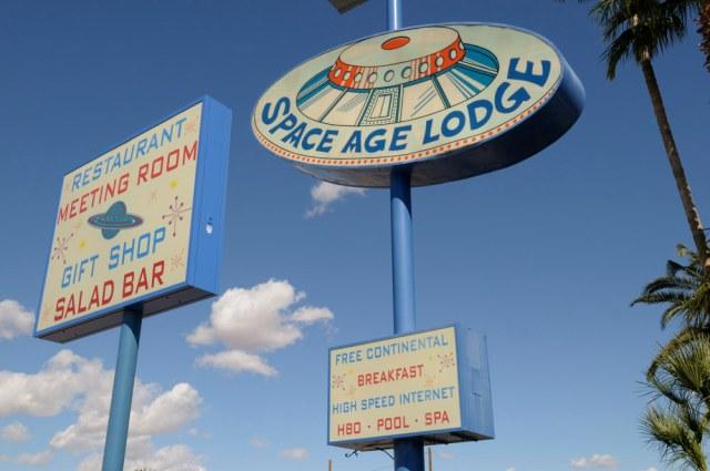 Space Age Lodge in Arizona