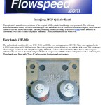 Identifying MGB Cylinder Heads