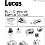 Lucas Fault Diagnosis Service Manual