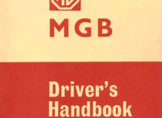 MGB Driver's Handbook