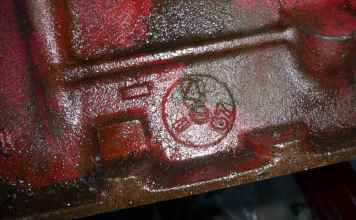 1967 MGB 1800 block date stamp