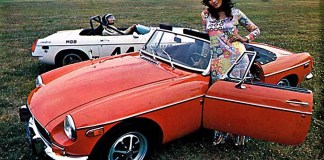 1971 MG MGB flower child