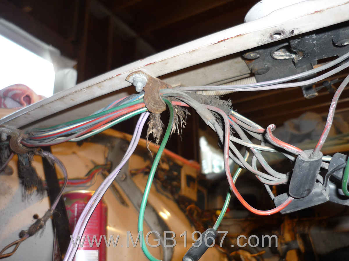 Mgb Gt Wiring Harness All Diagram 1967 Re Wrapping An Classic Car Ratty Looking