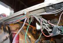 MGB GT ratty looking wiring