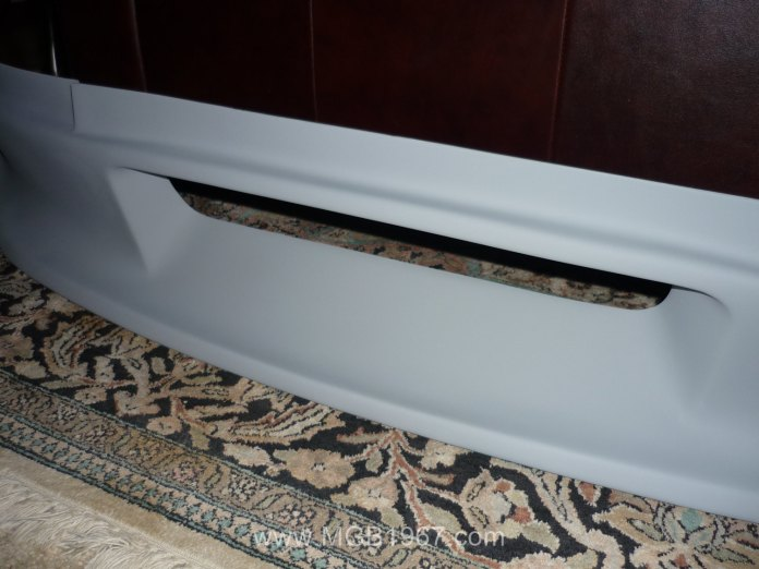 Moss Motors Special Tuning Spoiler with primer