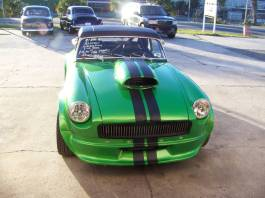 Craigslist 1974 mgb roadster 383 stroker engine turbo