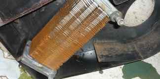MGB heater matrix