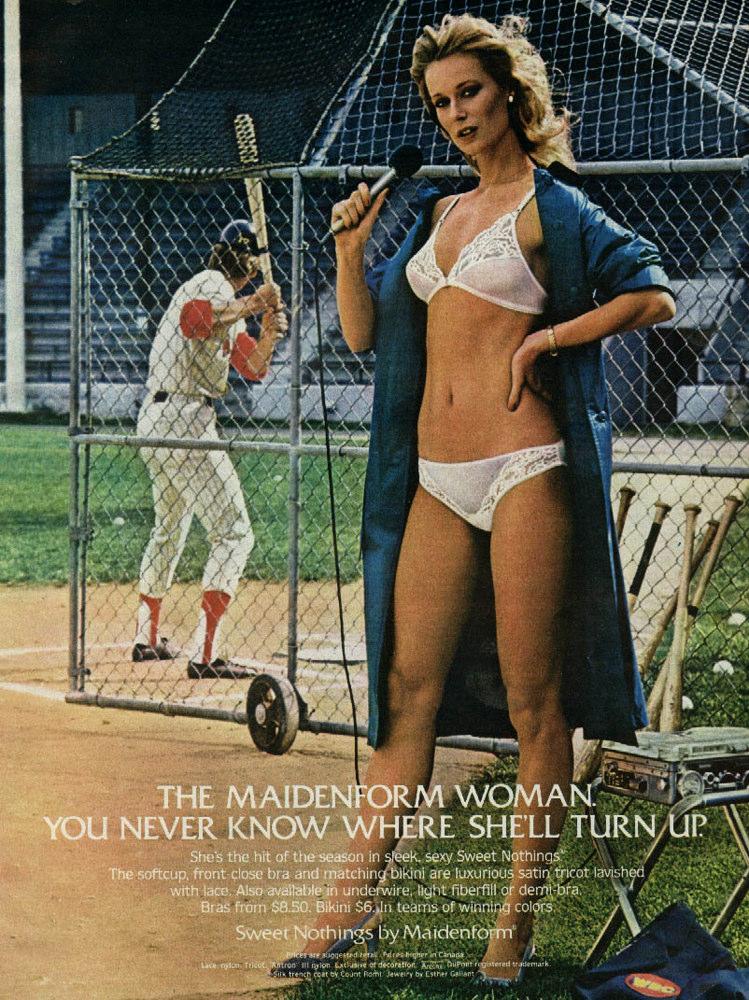 Maidenform Baseball Chick