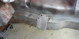 Media blasted MGB motor mounts