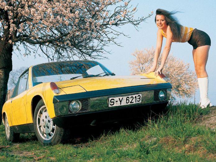 Porsche 914 girl