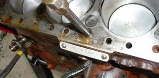 Stuck MGB Cylinder Head Bolt