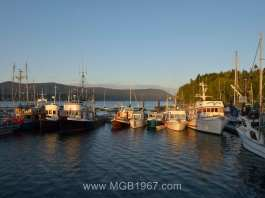 Work boats in Cowichan Bay