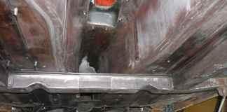 MGB GT transmission tunnel