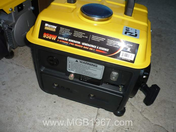 800 Watt portable generator