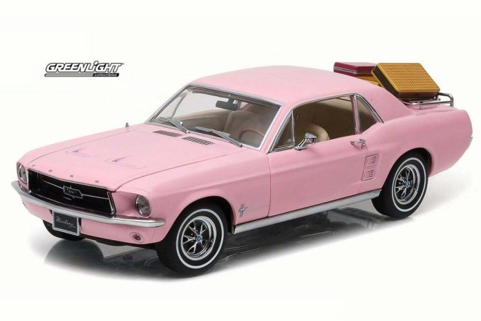 1967 Playboy Pink Ford Mustang model
