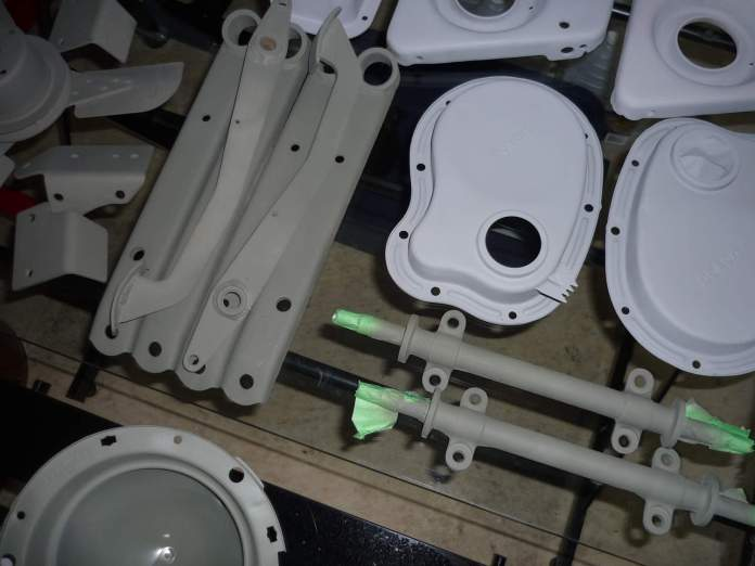 Primed MGB parts everywhere