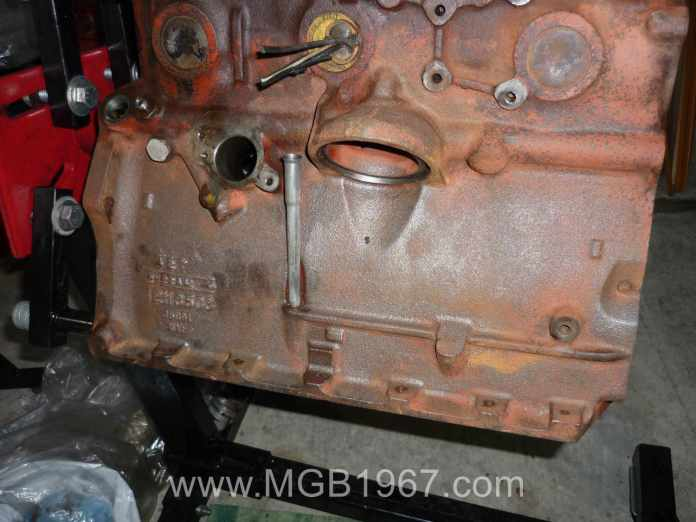 Cleaning the MGB 18V engine