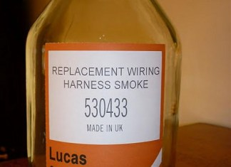 Replacement Lucas Wiring Harness Smoke