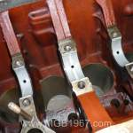 Installing main bearings in the MGB GT