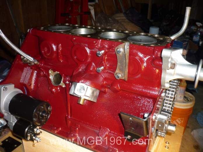 MGB 18V engine assembly