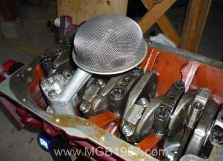 MGB oil pump in 18V engine