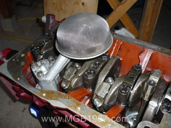 MGB oil pump in 18V engine