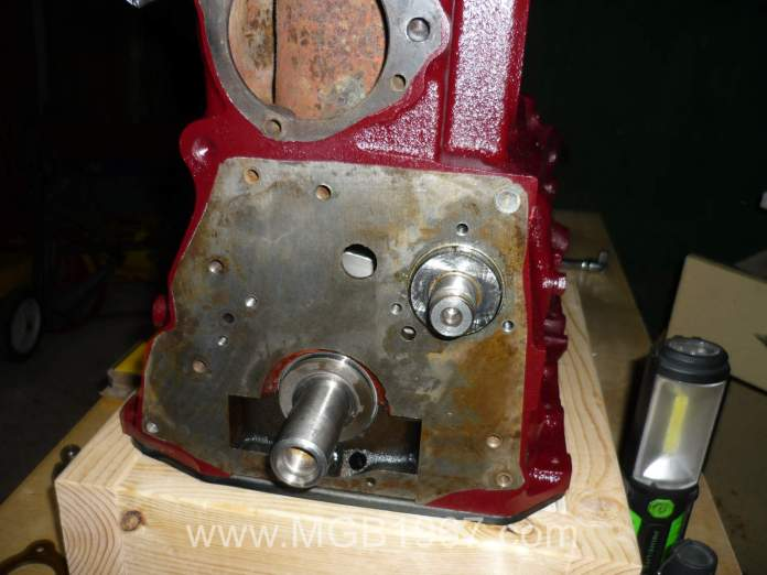 Ready to add parts to the MGB block