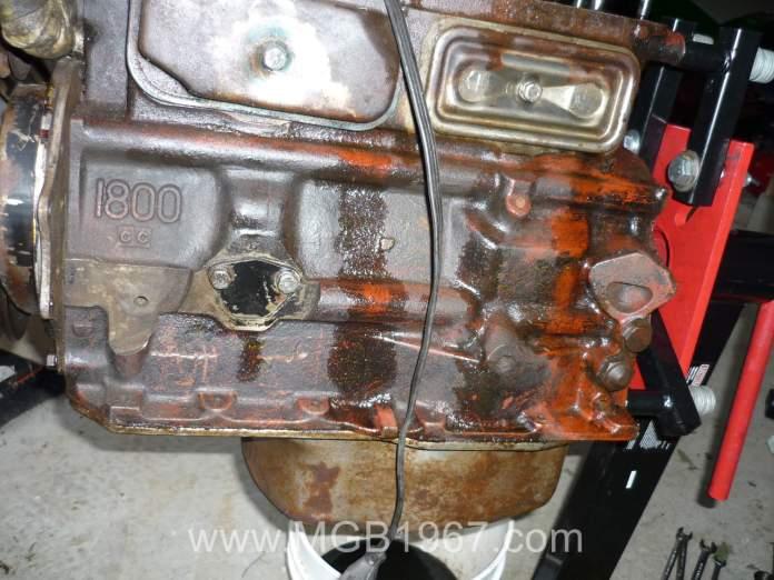 Ugly MGB 18V engine
