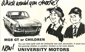 Which would you choose MGB GT or ChildrenWhich would you choose MGB GT or Children