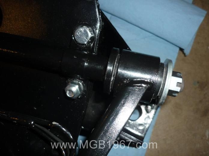 New MGB V8 bushings installed